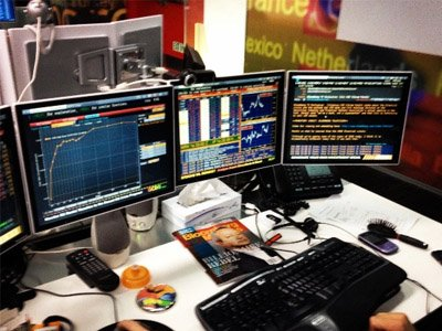 Bloomberg Terminal shows Bitcoin