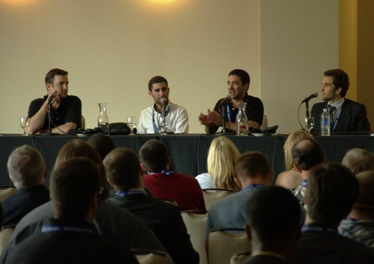 Crypto Currency Conference 2013 Atlanta Tony Gallippi Stephen Pair Charlie Shrem