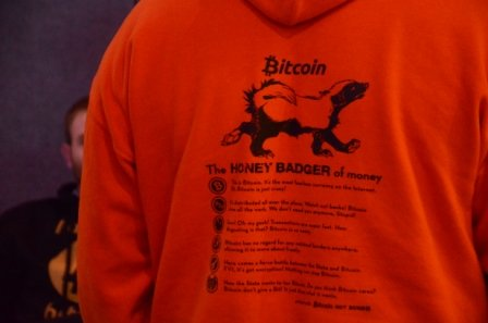 Bitcoin Honey Badger of Money