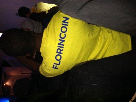 Florincoin t-shirt