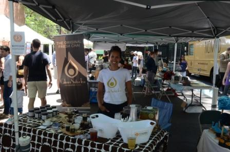 Calmer Sutra Tea at Hester Street Fair Bitcoin