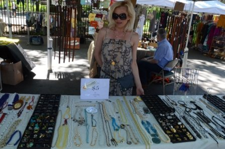 Delicate Raymond at Hester Street Fair Bitcoin