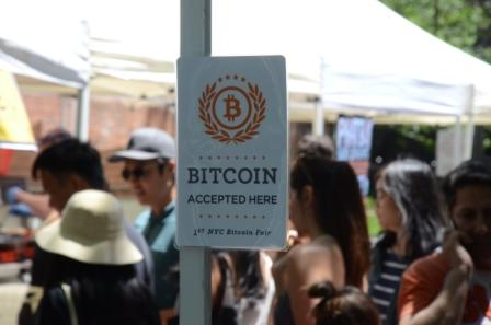 Hester Street Fair Bitcoin Accepted Here