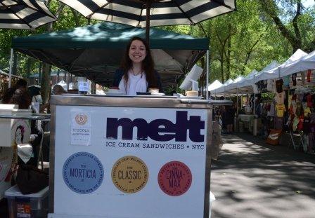 Melt at Hester Street Fair Bitcoin