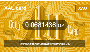 Bitreserve Gold Card