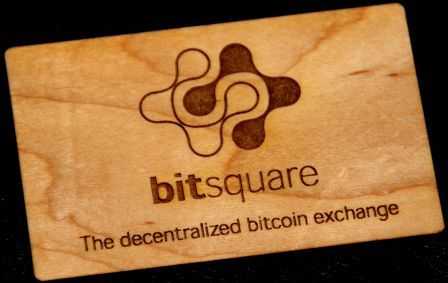Wood Wallet Bitsquare