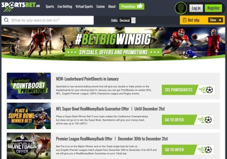 Sportsbet.io Casino Review – Is this A Scam/Site to Avoid