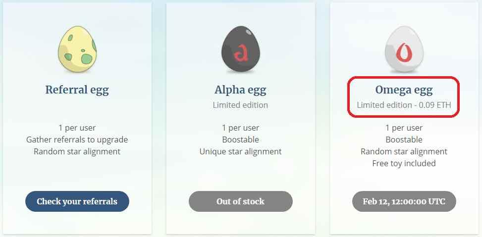 Aethia Omega Egg
