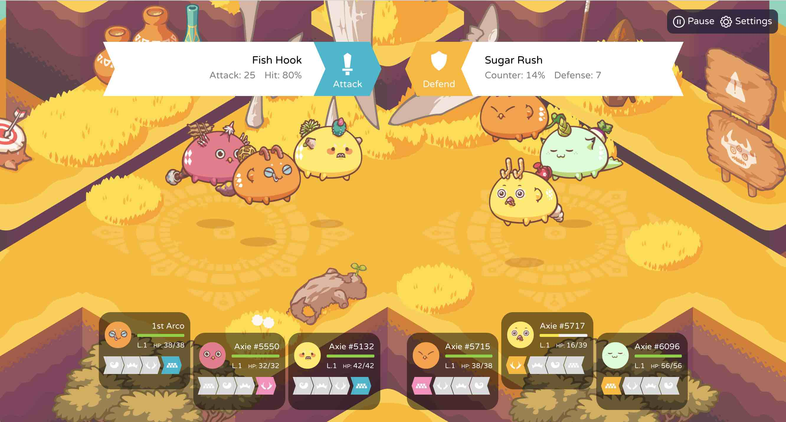 Axie Battle Feature Release